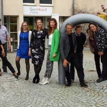Gruppenfoto vom Kick-Off Meeting in Stuttgart
